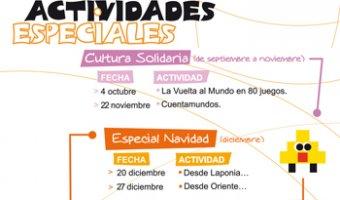 Actividades especiales (octubre-diciembre 2013)