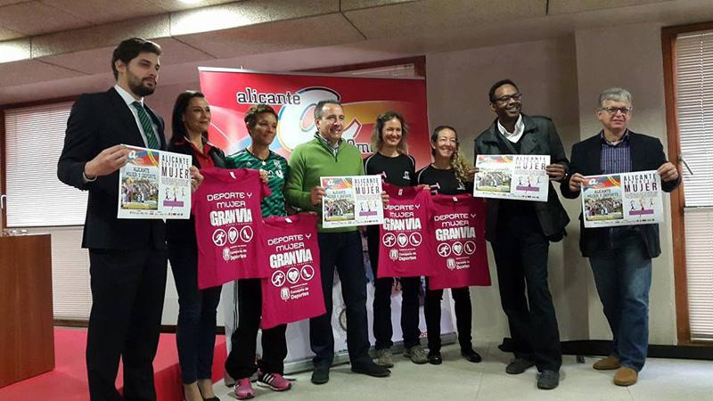 Gran Vía patrocina la «I Jornada Alicante Mujer» y programa actividades deportivas