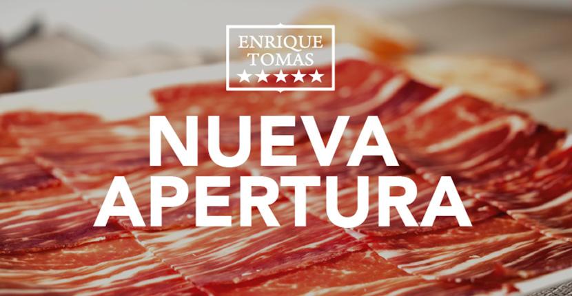 Abrimos una nueva tienda: ¡llega Enrique Tomás a Gran Vía!