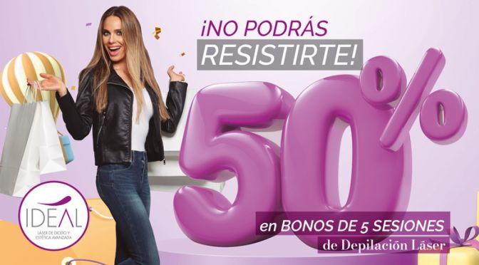 Bono 50% de descuento