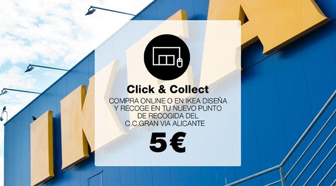 Nuevo punto de recogida Click and Collect Ikea
