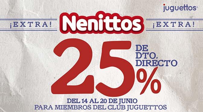 25% en Juguettos