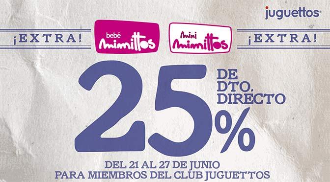 25% de descuento en Juguettos