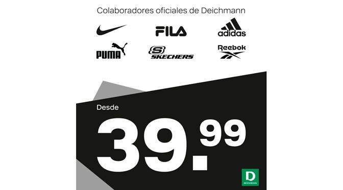 Sport Brands desde 39,99€ en Deichmann Calzados