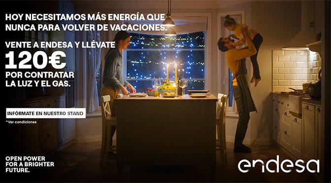 Llévate 120€ por contratar la luz y el gas